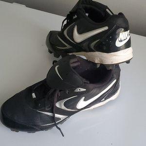 Nike cleats.